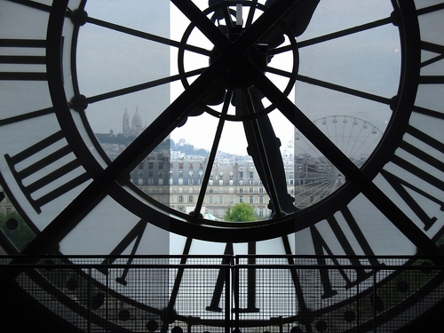 fototapete clock d 39 orsay museum paris fototapeten f r zu. Black Bedroom Furniture Sets. Home Design Ideas