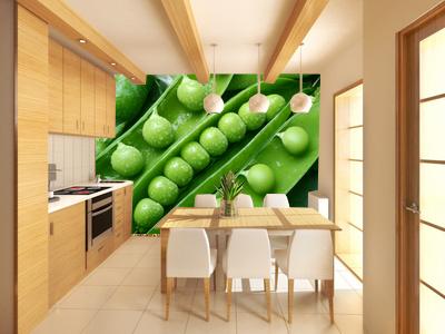 Nicht nur für die Küche - Fototapeten für zu Hause - um Kunden zu messen