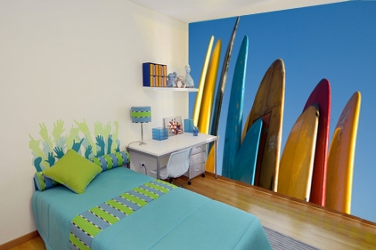 fototapete surfen boards fototapeten f r zu hause um. Black Bedroom Furniture Sets. Home Design Ideas